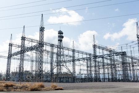 energia electrica: Central eléctrica Foto de archivo
