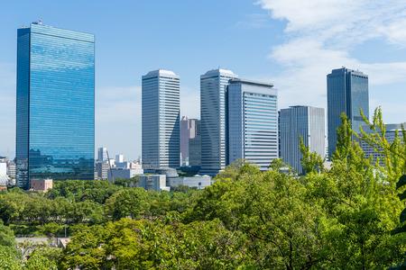osakajo: Osaka city Stock Photo
