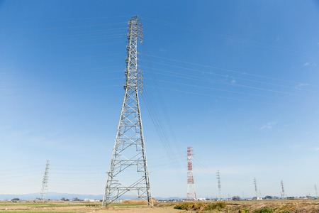 power distribution: Power distribution tower