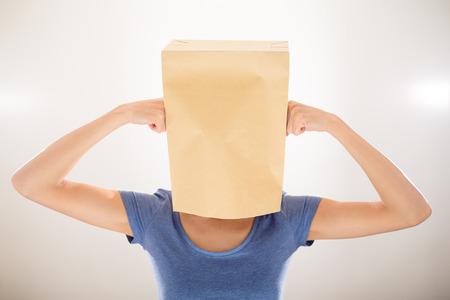 Woman under pressure
