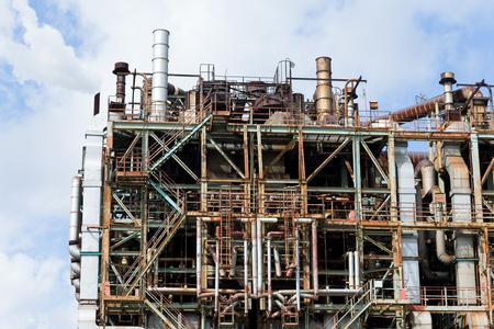 industrial: Industrial complex