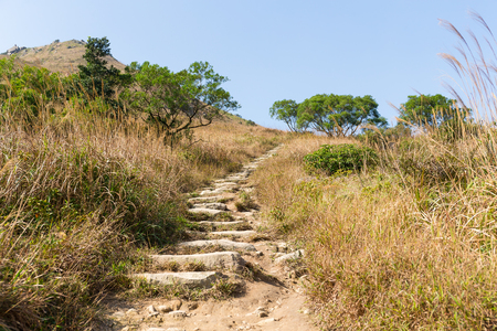 hiking path: Hiking path Stock Photo
