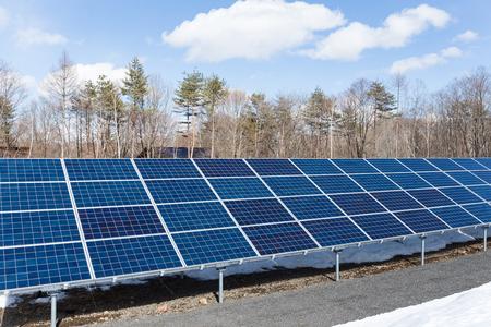 alternativ: Solar energy panel plant