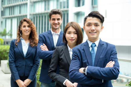 buisness woman: Group of business people from different country Stock Photo