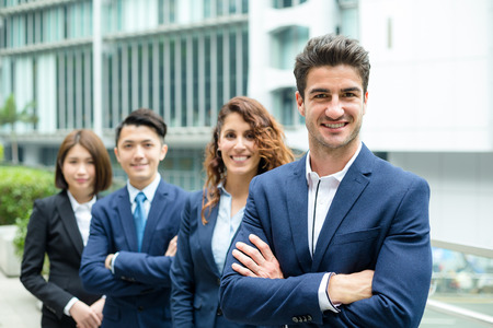 buisness woman: Professional business team Stock Photo