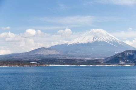 saiko: Mountain Fuji Stock Photo