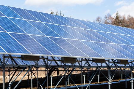 panel: Solar Panel Stock Photo