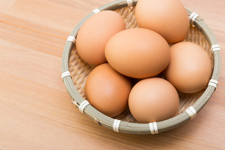 brown eggs: Brown eggs Stock Photo
