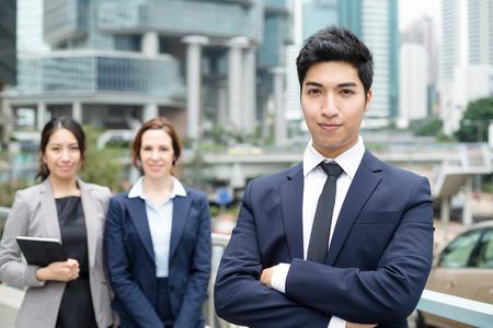chinese american ethnicity: International Business team
