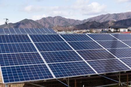 photocell: Solar energy panel