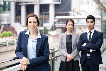 chinese american ethnicity: Business team