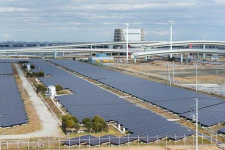 voltaic: Solar panel plant