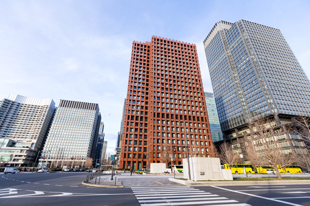 district: Tokyo business district