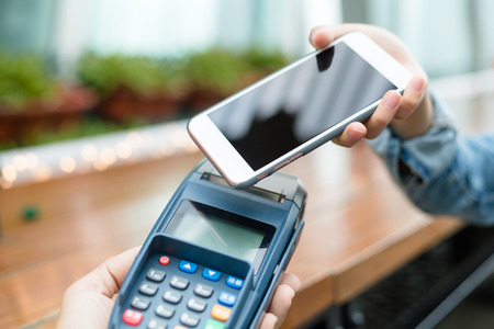 accepting: Accepting payment from customer through NFC