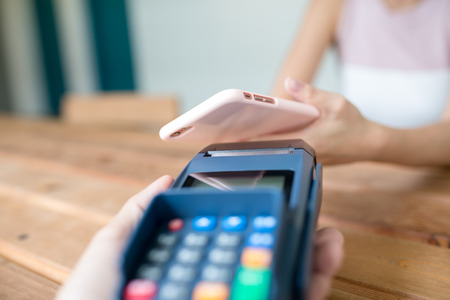 nfc: NFC mobile payment concept