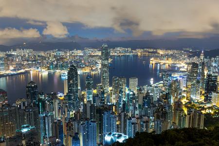 hong kong night: Hong Kong night Stock Photo