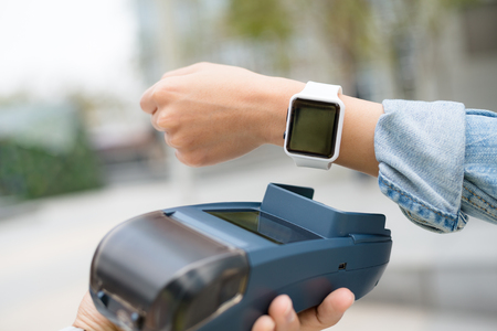 wireless terminals: Customer pay by smart watch