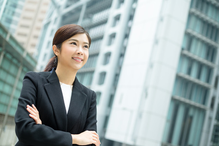 far away look: Confident Businesswoman