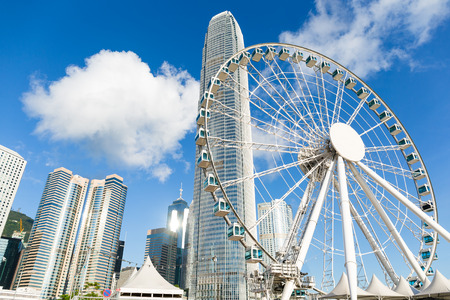Hong Kong 風景 写真素材