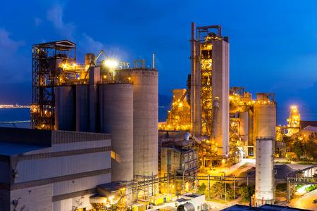 cement chimney: Cement Plant