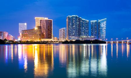 macao: Macao skyline at night