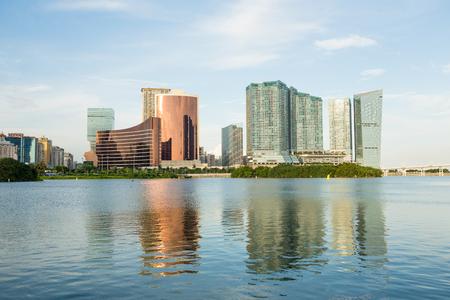 macau: Macau cityscape Stock Photo