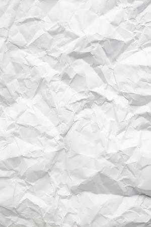 wrinkled paper: Wrinkled paper Stock Photo