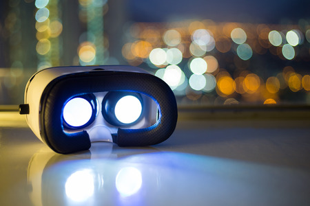 VR playing video