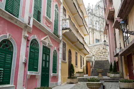 saint pauls cathedral: Ruins Of Saint Pauls Cathedral in Macau