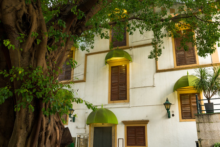 Macao old style house