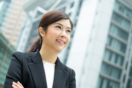 confident business woman: Business woman