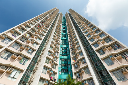 public housing: Apartment Building to the sky