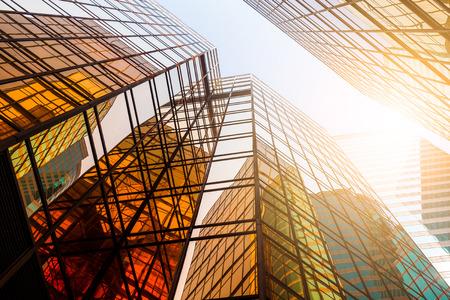 Business building to the sky Фото со стока