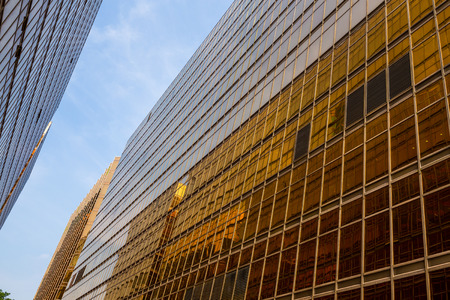 Business skyscraper to the sky Stock Photo
