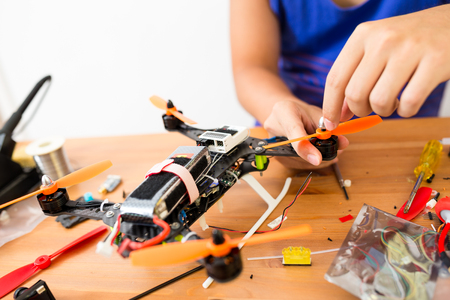 Building drone at home