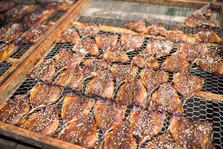 sesame street: Dried fish