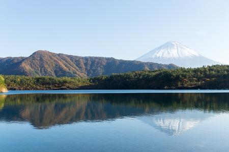 saiko: Saiko Lake and mountain Fuji