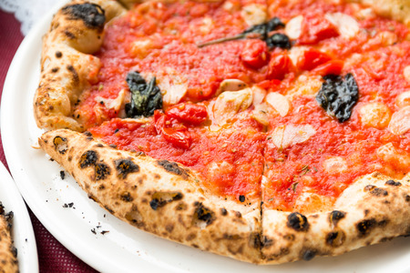 baked: Baked pizza
