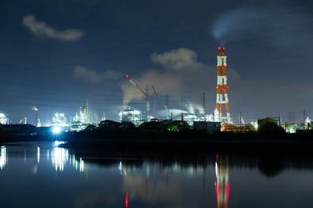 Industry complex in Mizushima Stock Photo