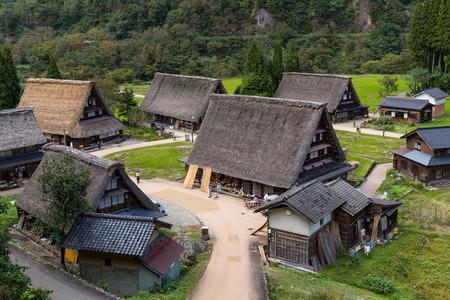 historic: Historic Japanese old village