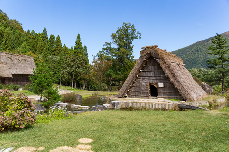 Traditional Japanese village Shirakawago