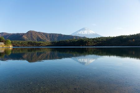 saiko: Mount Fuji and Saiko Lake