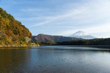saiko: Fujisan and Lake saiko in Japan
