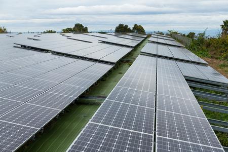 produce energy: Solar energy power plant