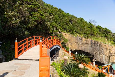 Aoshima Shrine in Aoshima Island