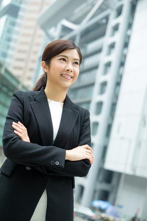 Confident Asian Businesswoman Stock Photo