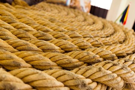 polea: Textura de la cuerda torcida
