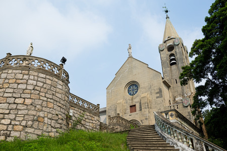 Penha Church in Macao city