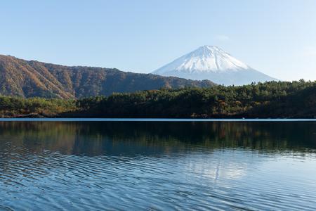 saiko: Lake saiko and Fuji Mountain