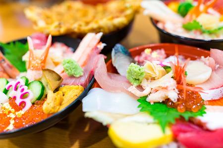 ova: Seafood sashimi bowl